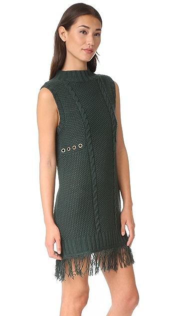 Moon River Turtleneck Sweater Dress