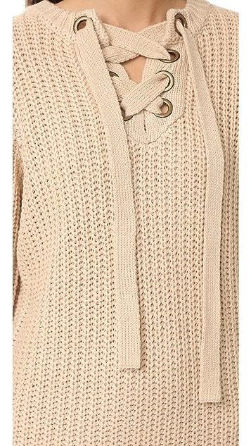 Moon River Sweater Dress