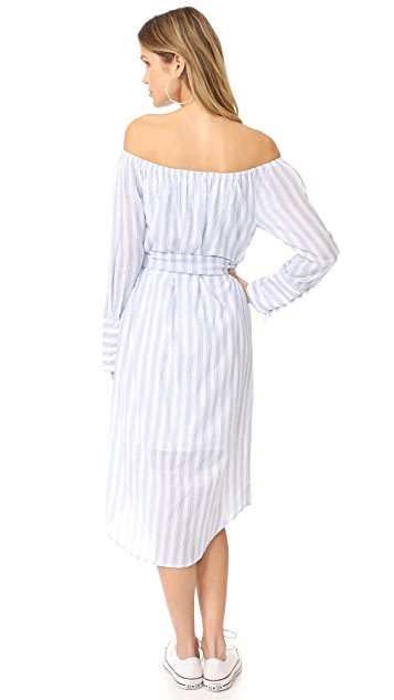 Moon River Off Shoulder Dress