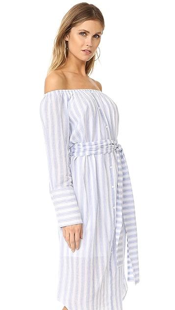 Moon River Платье с открытыми плечами