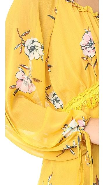 Moon River Floral Dress