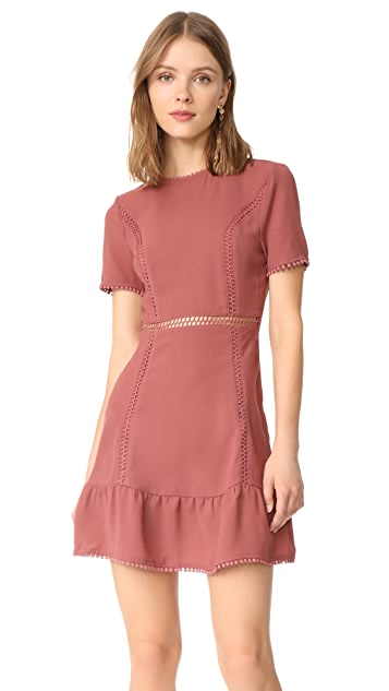 Moon River Dusty Rose Dress