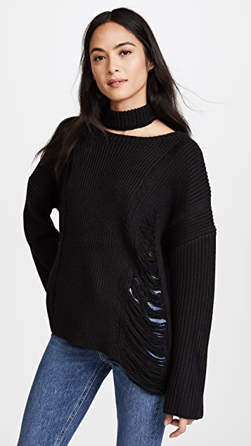 Moon River Collar Sweater