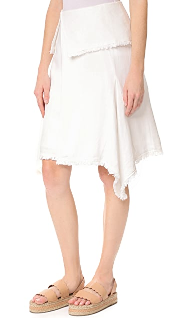 Moon River Woven Skirt