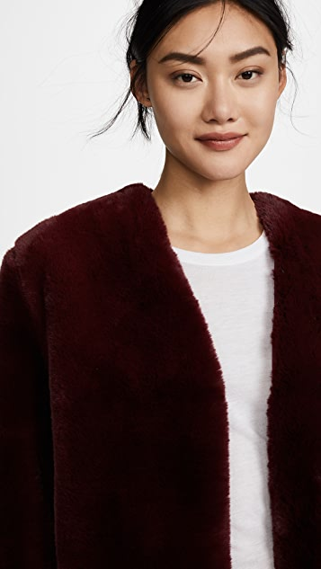 Moon River Faux Fur Coat