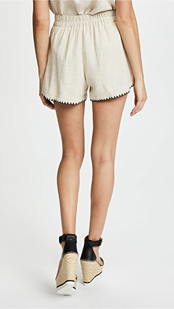 Moon River Tie Shorts