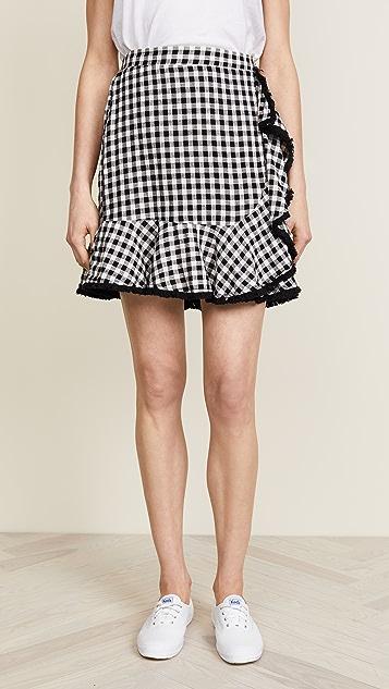 Moon River Gingham Skirt
