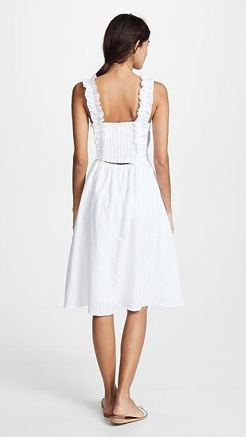 Moon River Lace Midi Dress