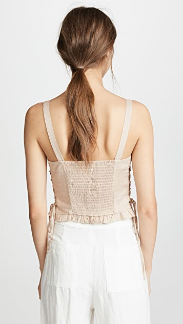 Moon River Bustier Top
