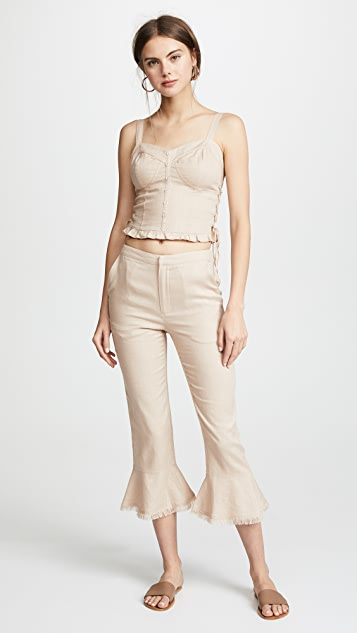 Moon River Flare Pants