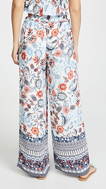 Moon River Floral Pants