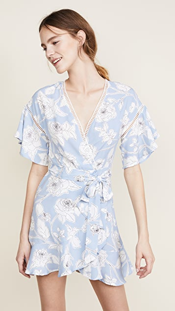 Moon River Wrap Dress
