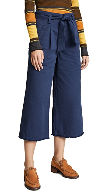 Moon River High Waisted Wide Leg Trousers