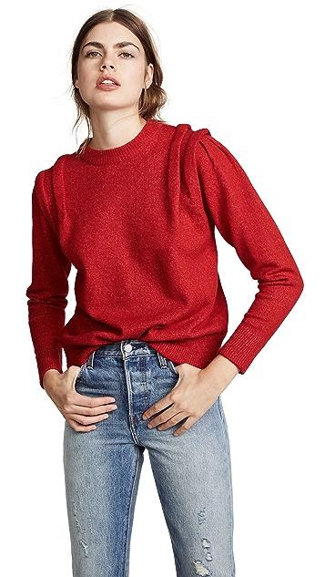 Moon River Folded Sleeve Sweater