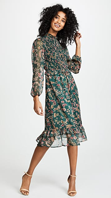 ef1ac8f3099 Moon River Floral Midi Dress ...