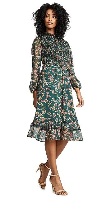 Moon River Floral Midi Dress