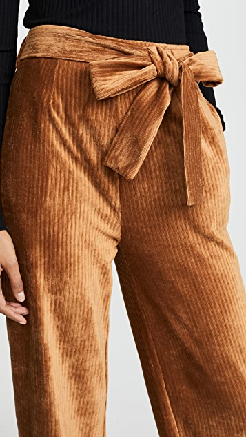 Moon River Corduroy High Waist Trousers