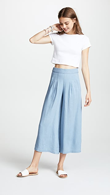 Moon River Wide Leg Trousers