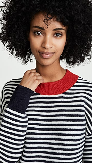 Moon River Striped Sweater