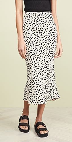 Moon River - Leopard Print Skirt