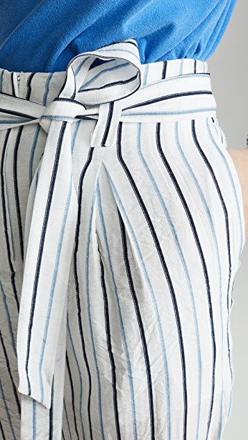 Moon River Striped Trousers