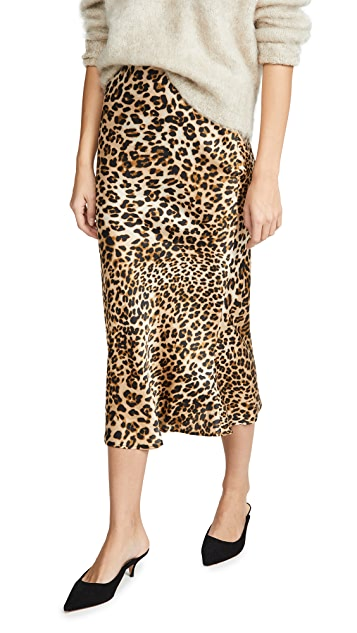 Moon River Leopard Skirt
