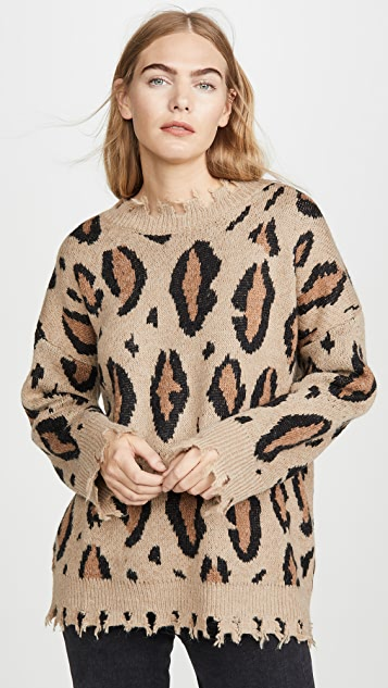 Moon River Leopard Sweater