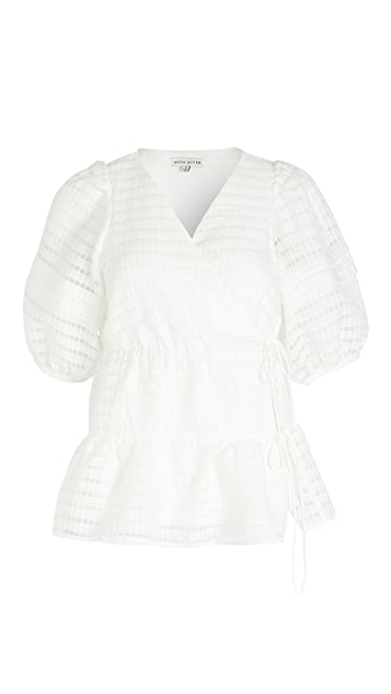 Moon River 裹身女式衬衫