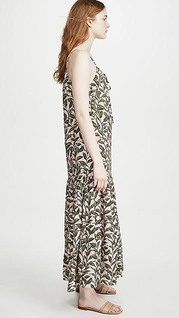 Moon River Sleeveless Maxi Dress