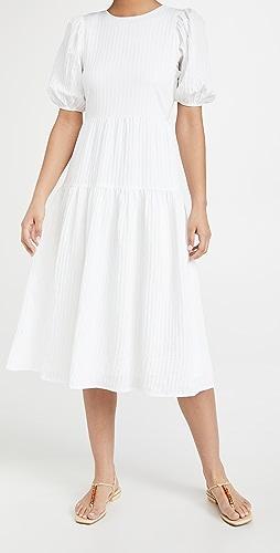 Moon River - Shadow Stripe Dress
