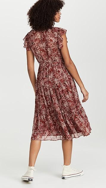 Moon River Paisley Dress