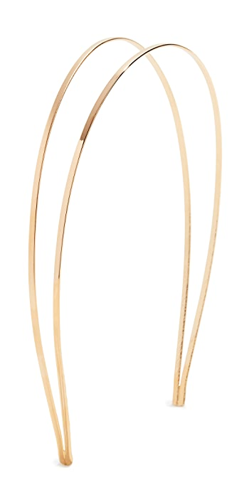 Mrs. President and Co. The Coveted Headband - Two Tone Gold