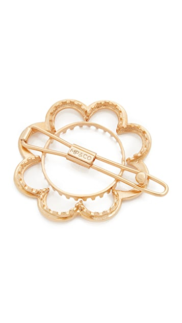 Mrs. President & Co. Flower Power Barrette