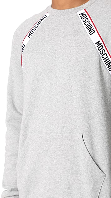 Moschino Logo Tape Sweatshirt