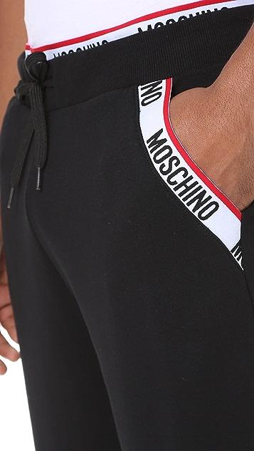 Moschino Logo Tape Joggers