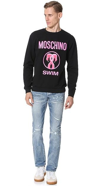 Moschino Flamingo Crew