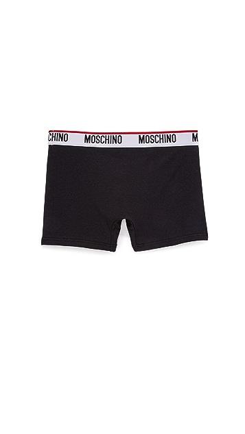 Moschino Stretch Jersey Trunks