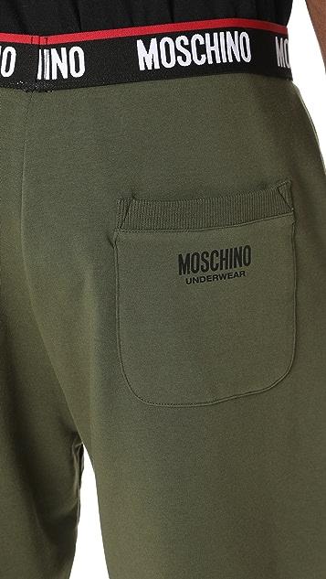 Moschino Cotton Fleece Sweatshorts