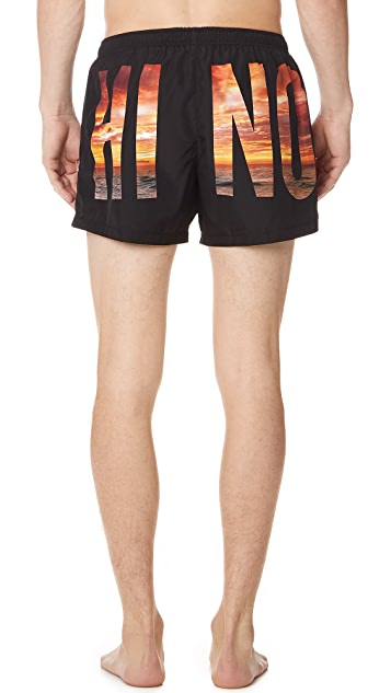 Moschino Moschino Swim Shorts