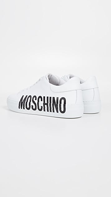 Moschino Side Logo Sneakers