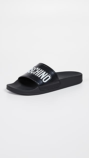 Moschino Pool Slides