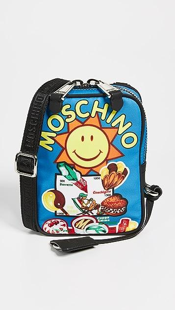 Moschino Sun Print Shoulder Bag