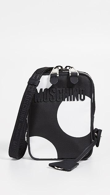 Moschino Polka Dot Shoulder Bag