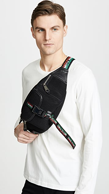 Moschino Tricolor Bumbag
