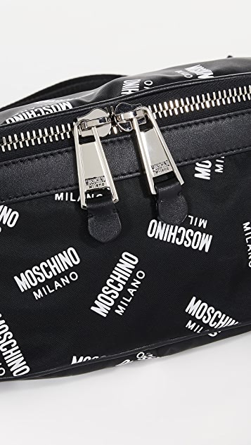 Moschino Multi Logo Bum Bag