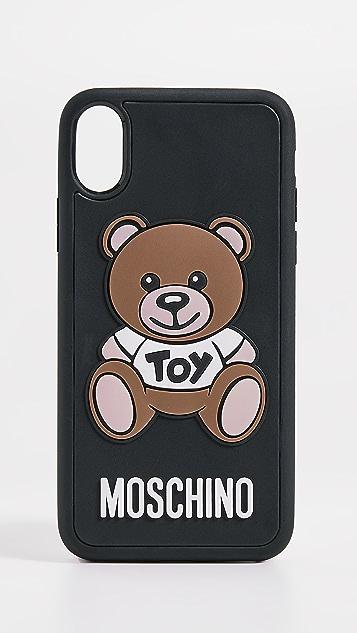 2e5ffde95c8f Moschino Toy Bear iPhone X Case ...