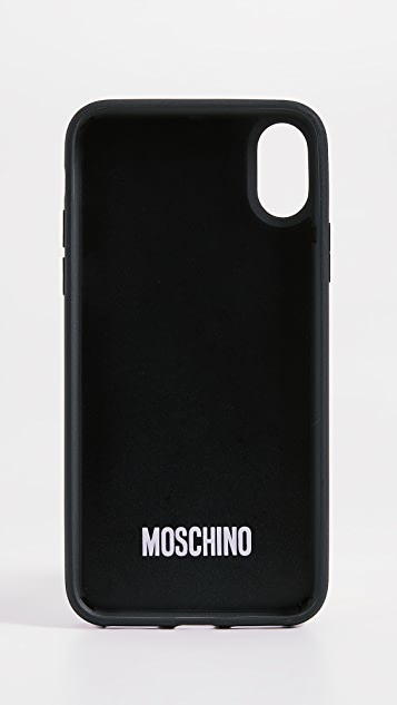 Moschino Toy Bear iPhone X Case