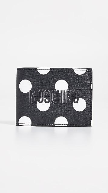 Moschino Polka Dot Bifold Wallet