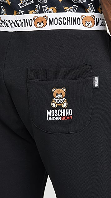 Moschino Bear Jogger Shorts