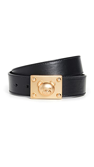 Moschino Teddy Buckle Belt